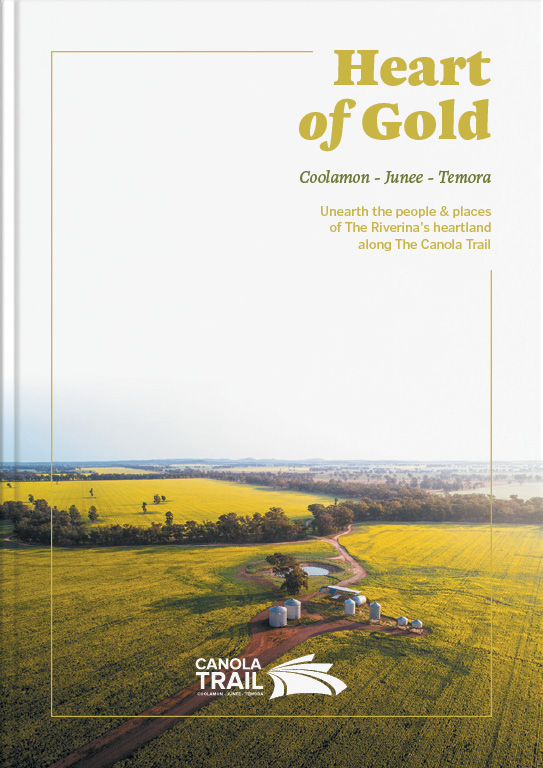 Heart of Gold - Canola Trail Visitor Guide